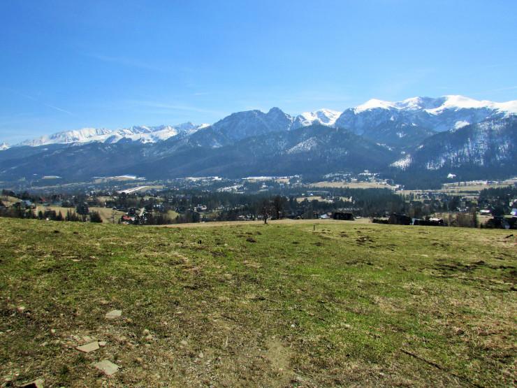 wiosenna panorama gór