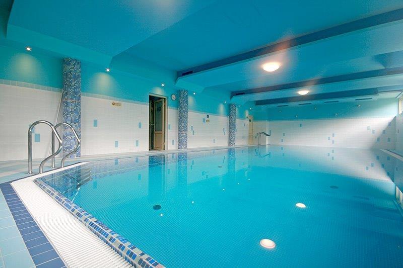 prywatny basen dla wczasowiczów