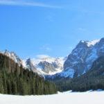 panorama polany małołąckiej zimą