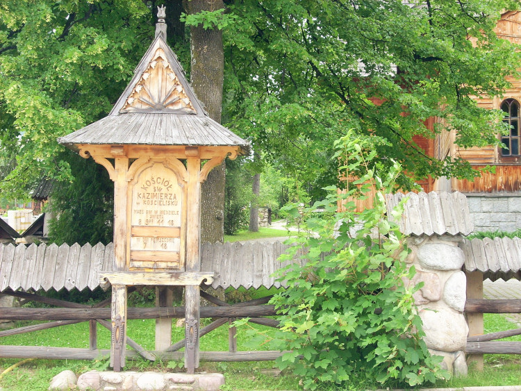 regionalny drewniany kościół