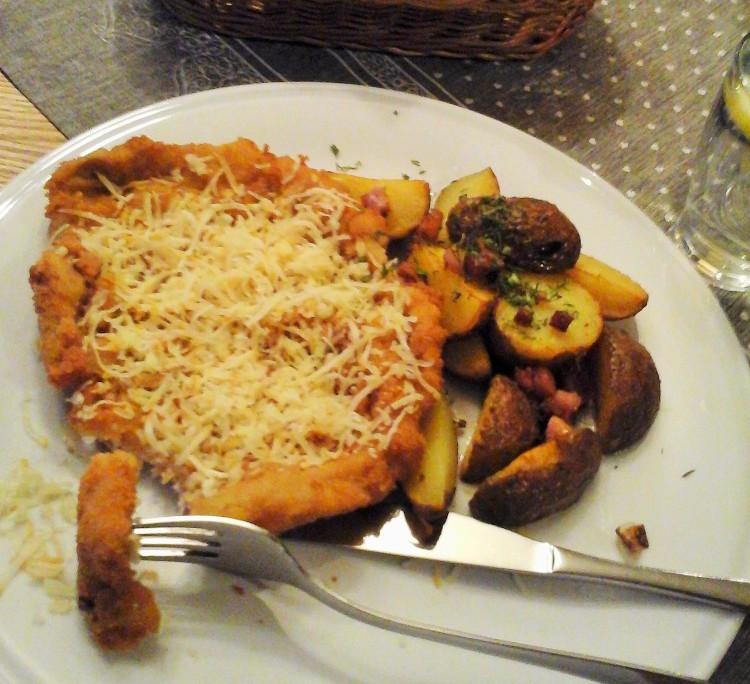 obiad w Karczmie Polany